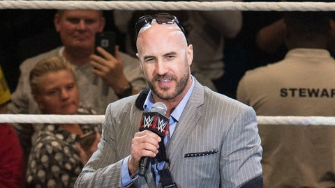 Kickoff show: Cesaro vs. Sheamus in the first match of a best-of-7 series