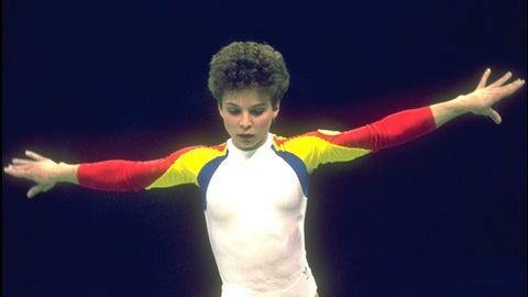 Daniela Silivas (six medals, three golds in 1988)
