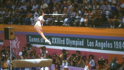 Ecaterina Szabo (five medals, four golds in 1984)