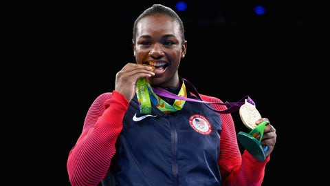 Claressa Shields - women's 75kg boxing
