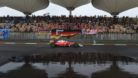 Ferrari will finish a distant third in the constructor's standings