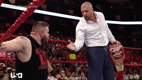 Triple H returns