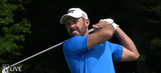 Watch Charl Schwartzel drive the green on a par-4 with an iron