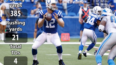 QBs: Andrew Luck