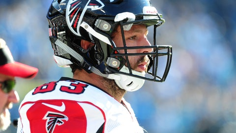 Falcons TE Jacob Tamme -- owned in 4.7% of leagues