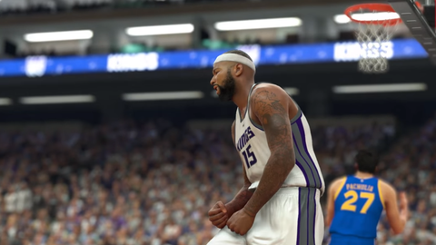 90 overall - DeMarcus Cousins
