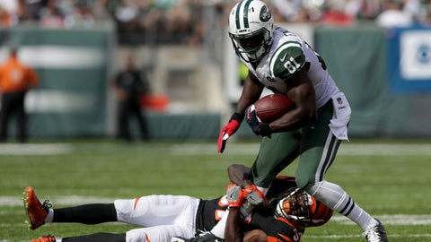 Jets WR Quincy Enunwa -- owned in 1.9% of leagues