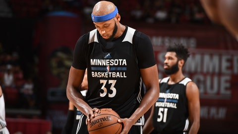 Timberwolves worst: Adreian Payne (69 overall)