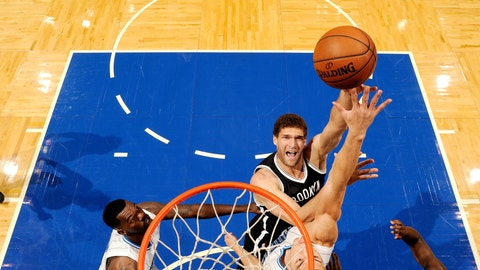 Nets best: Brook Lopez (81 overall)