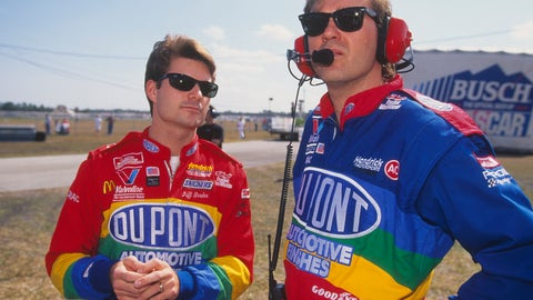Jeff Gordon and Ray Evernham
