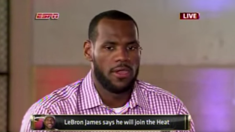 LeBron James and the Cleveland Cavaliers