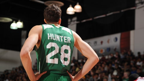 Celtics worst: R.J. Hunter (65 overall)