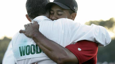 Tiger Woods and [insert person here]