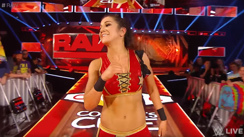 Charlotte vs. Sasha Banks vs. Bayley for the Raw Women's Championship