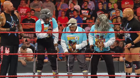 The New Day vs. Gallows and Anderson for the Raw Tag Team Championship