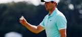 Rory McIlroy hits a clutch 138-yard eagle in FedEx Cup finale