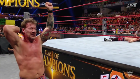Chris Jericho defeats Sami Zayn
