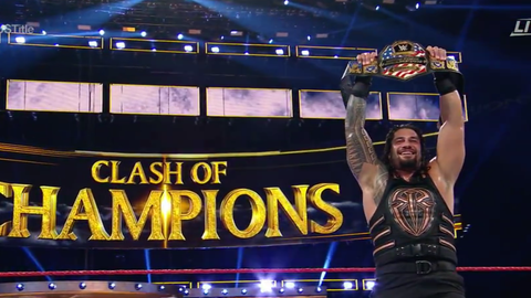 Roman Reigns defeats Rusev to win the United States Championship