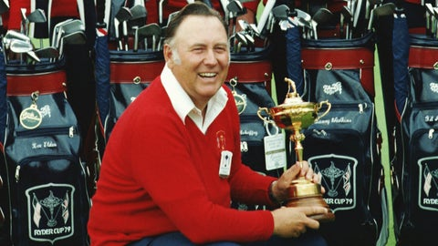 Team USA - Billy Casper: 23.5 points (20-10-7)