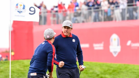Phil Mickelson: C+