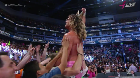 Dolph Ziggler defeats The Miz to win the Intercontinental Championship