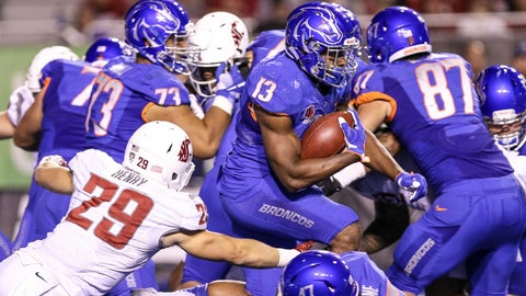 Boise State (3-0), re-rank: 25