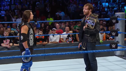 AJ Styles vs. Dean Ambrose for the WWE World Championship