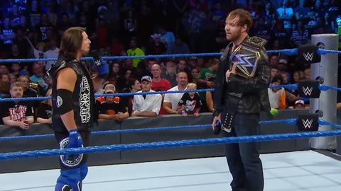AJ Styles vs. Dean Ambrose for the WWE World Championship