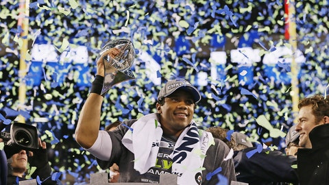 Seahawks QB Russell Wilson, $21.9 million