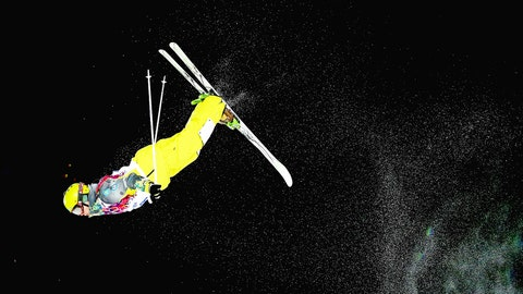 Flying high in the Sochi ski