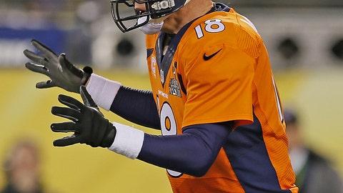 Super Bowl XLVIII: Broncos' terrible start sets the tone