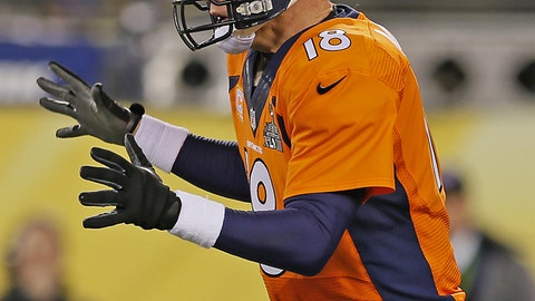 Super Bowl XLVIII: Broncos' terrible start sets the tone