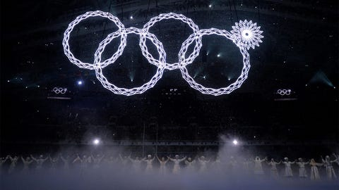 The Opening Ceremony ring glitch