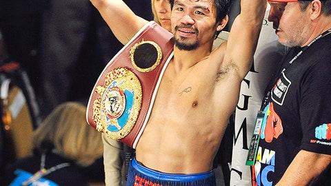 Manny happy returns