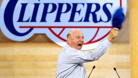 Steve Ballmer - Owner, Los Angeles Clippers