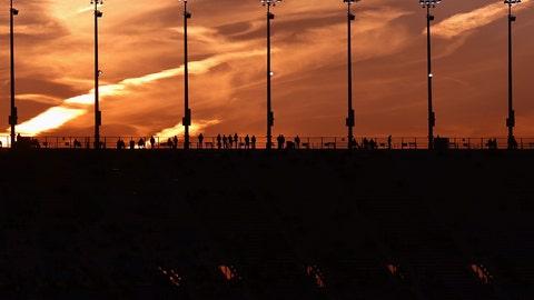 Saturday night at the track