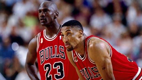 Year Seven (LeBron James: 2009-10; Michael Jordan: 1990-91)