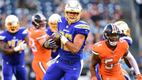 Hunter Henry, TE, Chargers