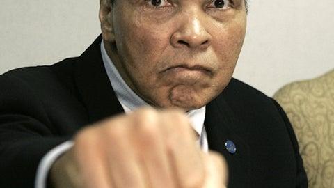 Muhammad Ali, boxer, Jan. 17, 1942-June 3, 2016