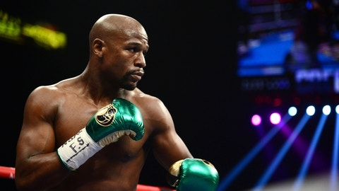 Mayweather's return from retirement