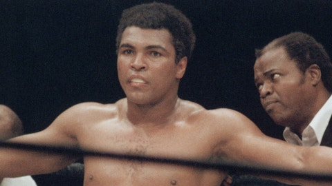 Kaepernick is in a similar position to Ali's