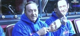 Kevin Spacey shows up behind mask at Panthers' 'Spacey in Space night'
