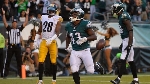 The Pittsburgh Steelers defense gets steamrolled by the Eagles