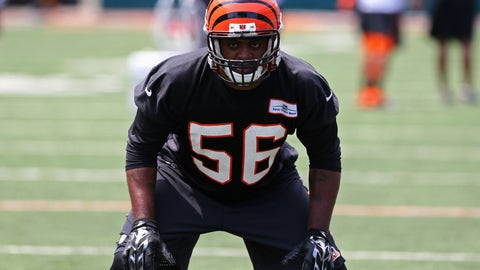 Cincinnati Bengals: Karlos Dansby, LB, age 34