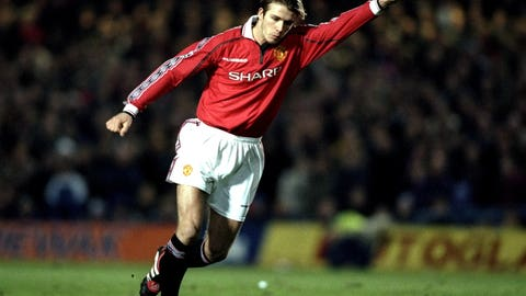 """Without being too harsh on David Beckham, (he) cost us the match."""