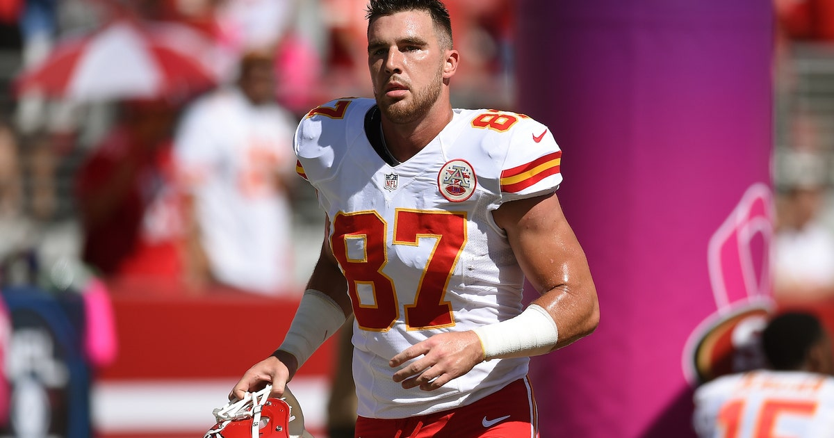 Travis Kelces New Dating Show Catching Kelce Is Absurd Fox Sports