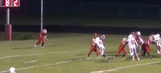 Watch a high schooler boot a ridiculous endzone-to-endzone punt