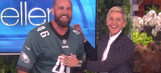 Watch Eagles' long-snapping magician Jon Dorenbos amaze 'Ellen' audience