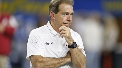 Alabama  (13-0), Peach (semifinal)