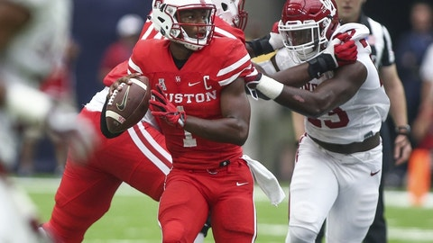 No. 24 Houston Cougars (overrated)